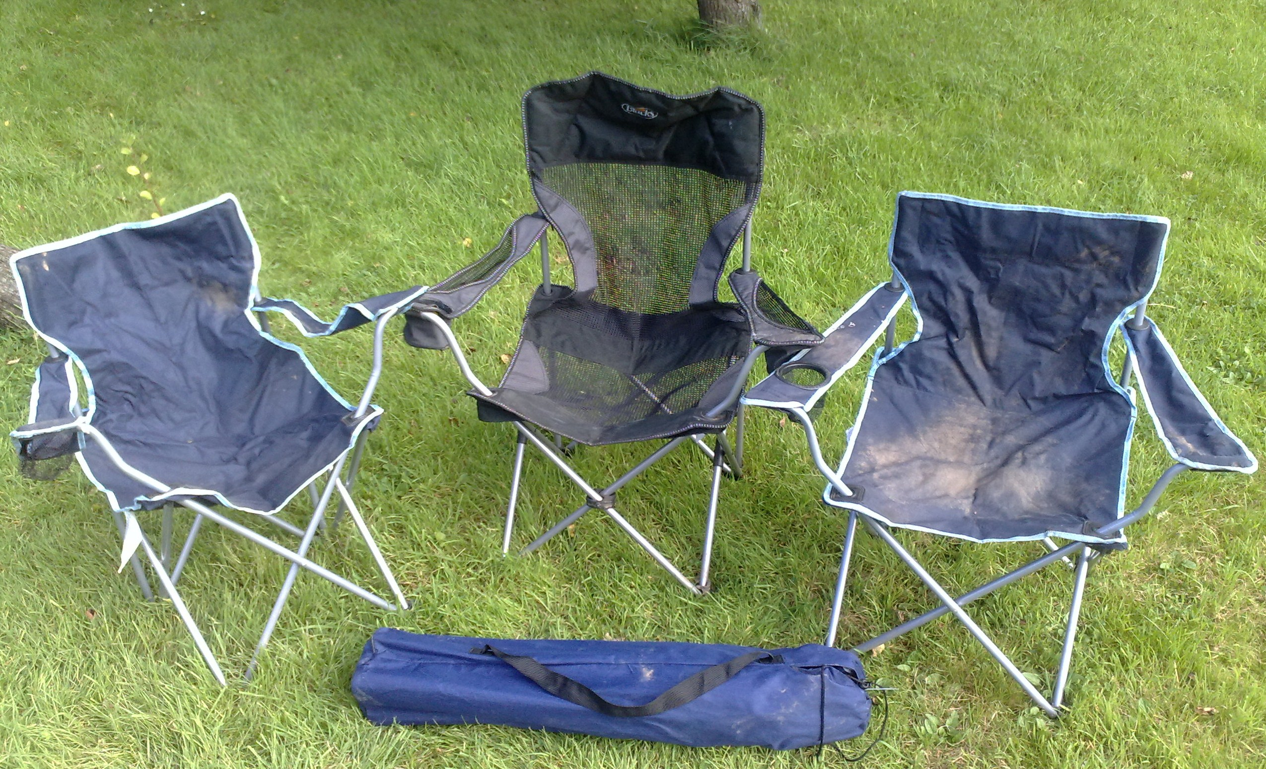 Lightweight camping chairs - Lightweight Fold Away Camping Chairs Camping Equipment Hire R Leisure Hire Ltd 01524 733540